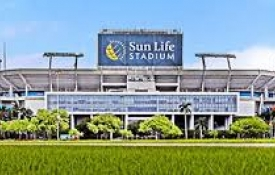 Stay With Us for Football at Sun Life Stadium